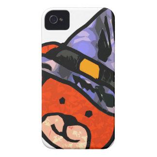 Colores del alt de la bruja del oso iPhone 4 Case-Mate cobertura