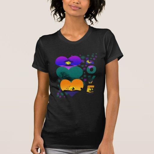Colores del amor camiseta