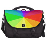 Colores del arco iris bolsas de ordenador