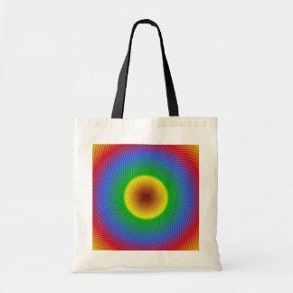 colores del arco iris bolsa tela barata