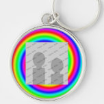 Colores del arco iris. Brillante y colorido. Foto  Llaveros Personalizados