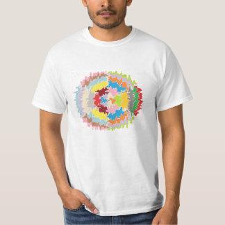 Colores del arco iris de EBR:  Balance energético Camisas
