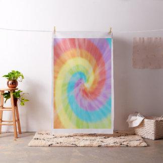 Colores del arco iris del teñido anudado telas