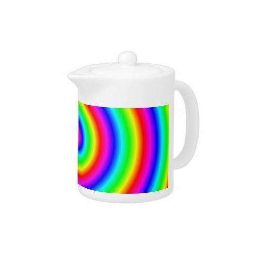 Colores del arco iris. Espiral brillante y colorid