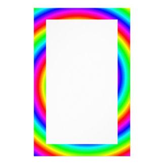 Colores del arco iris. Espiral brillante y colorid Papeleria