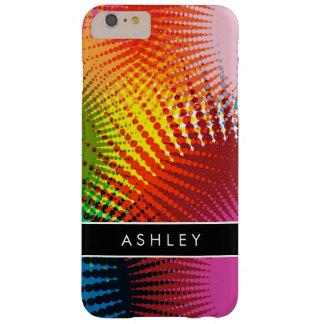 Colores del arco iris - extracto colorido funda de iPhone 6 plus barely there