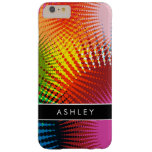 Colores del arco iris - extracto colorido funda para iPhone 6 plus barely there