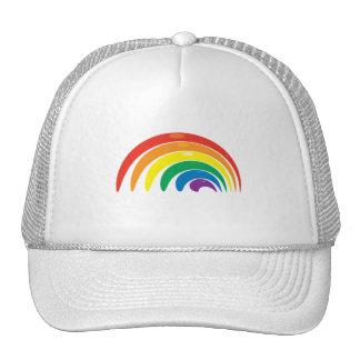 Colores del arco iris gorras
