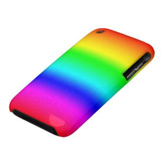 Colores del arco iris iPhone 3 cobertura