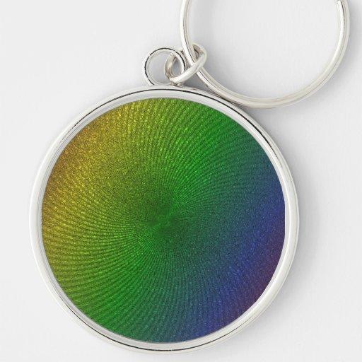 colores del arco iris llavero