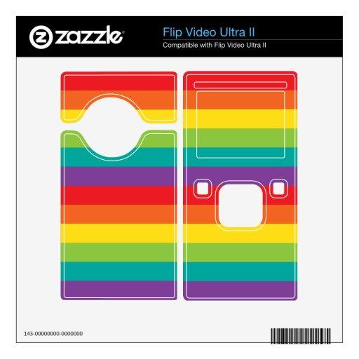 Colores del arco iris skins para flip ultra II