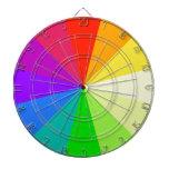 Colores del arco iris tabla dardos
