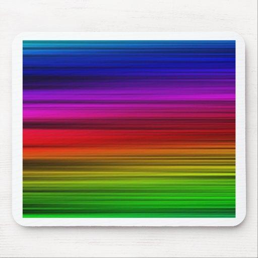 Colores del arco iris tapete de ratones