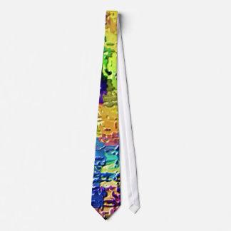 Colores del arco iris - terapia V21 de la alta Corbata Personalizada