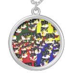 Colores del arte pop de la repetición de la magdal joyerías