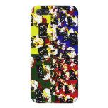 Colores del arte pop de la repetición de la magdal iPhone 5 carcasas