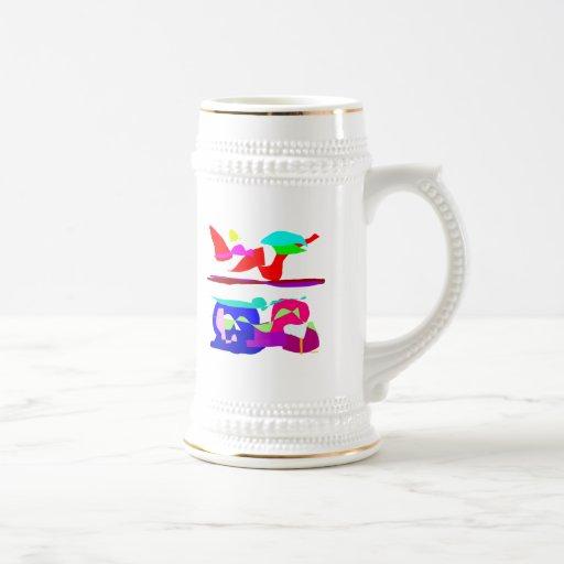 Colores del arte taza
