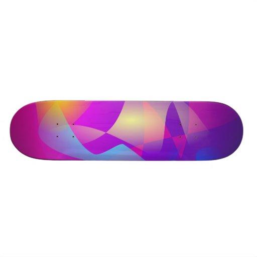 Colores del baile tabla de patinar