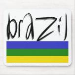 ¡Colores del Brasil! Tapete De Ratón