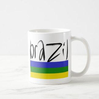 ¡Colores del Brasil! Taza De Café