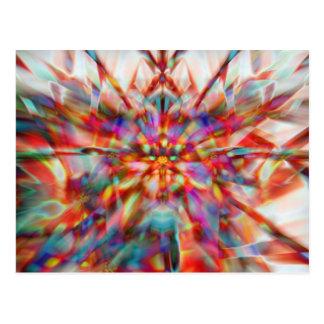 Colores del caleidoscopio postal