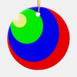 colores del círculo ornamentos para reyes magos