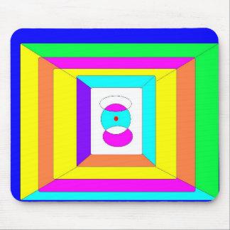 Colores del cojín de ratón de la armonía tapetes de raton