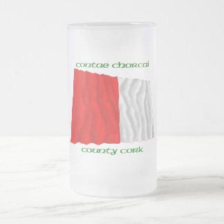 Colores del corcho del condado tazas de café