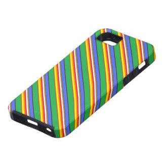 Colores del cubo de la playa iPhone 5 protector