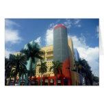 colores del deco de Miami Felicitación