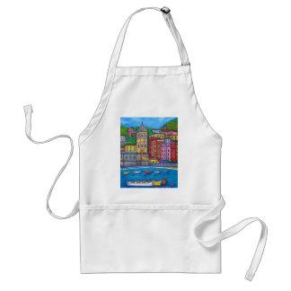 Colores del delantal de Vernazza Cinque Terre