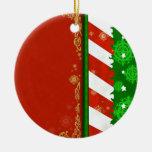Colores del día de fiesta adorno de navidad