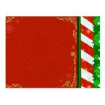 Colores del día de fiesta tarjetas postales