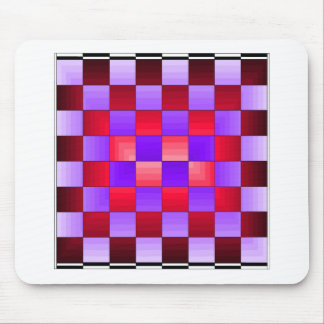 Colores del espectro del tablero de ajedrez X1 Cri Alfombrillas De Ratón