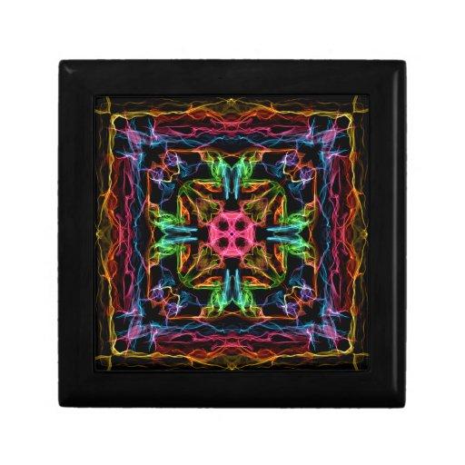Colores del fuego caja de joyas
