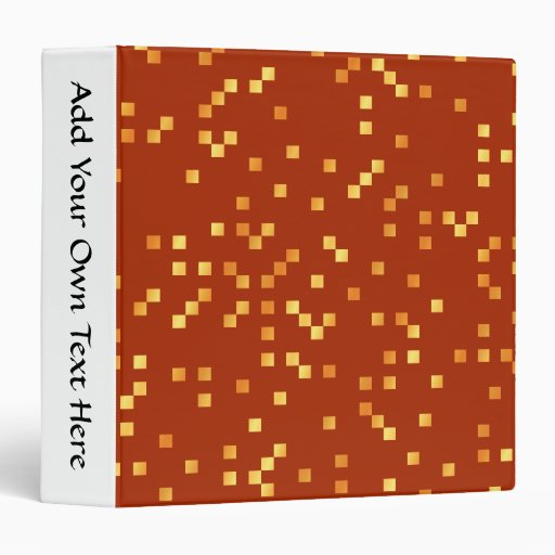 """Colores del fuego, modelo de puntos cuadrado carpeta 1 1/2"""""""