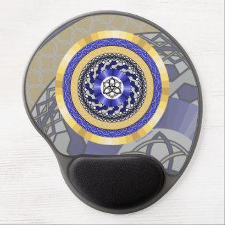 Colores del gel Mousepad de los Años Nuevos Alfombrilla Con Gel
