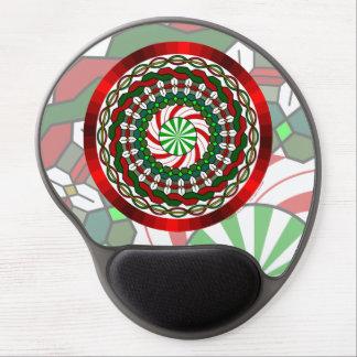 Colores del gel Mousepad del navidad Alfombrilla De Ratón Con Gel