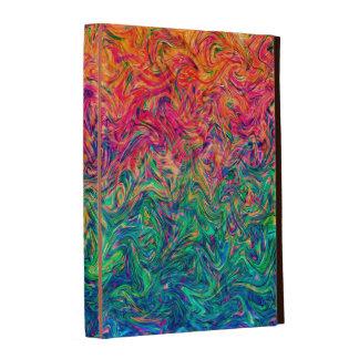 Colores del líquido del folio del iPad de Caseable
