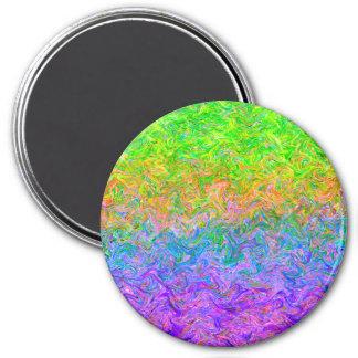 Colores del líquido del imán
