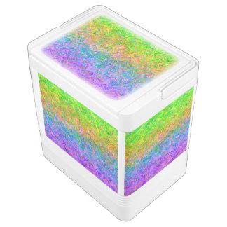 Colores del líquido del neverita de bebidas hielera igloo