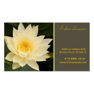 Colores del loto flower om yoga healers DIY de Pix Tarjeta De Visita
