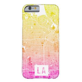 Colores del mapa de Los Ángeles Funda Barely There iPhone 6
