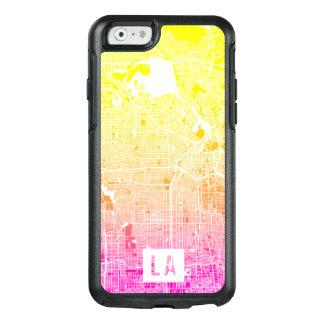 Colores del mapa de Los Ángeles Funda Otterbox Para iPhone 6/6s