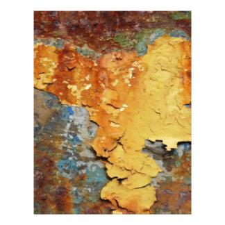Colores del moho/del Rost-Arte Plantillas De Membrete