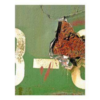 Colores del moho/del Rost-Arte Membrete