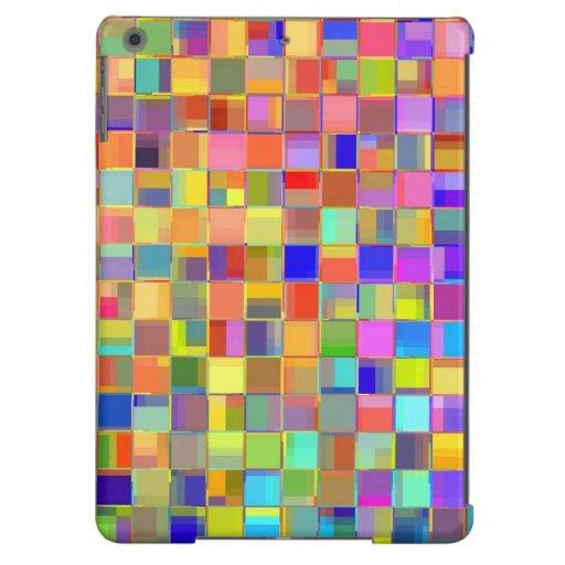 Colores del mosaico funda para iPad air