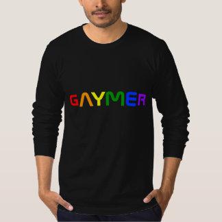Colores del orgullo del arco iris de Gaymer Poleras