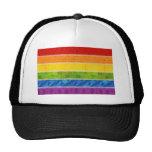 Colores del orgullo gay gorros bordados