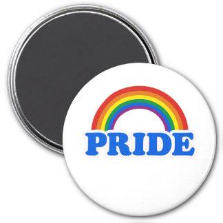 Colores del orgullo imán redondo 7 cm